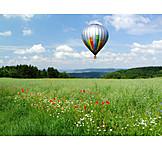 Hot air balloon, Balloon