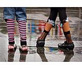 Multi colored, Legs, Shoes, Fashionable