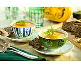 Vegetable soup, Pumpkin soup