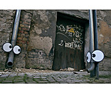View, Proboscis, Streetart, Pipe