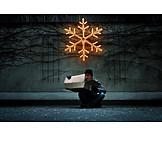 Humor & bizarre, Christmas, Astonished, Package