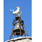 Rooster, Bells, Animal figure