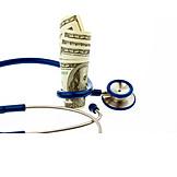 Stethoscope, Us Dollar, Health Care