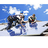 Craftsman, Solar plant, Montage