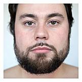 Man, Face, Portrait