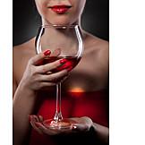 Elegant, Indulgence & Consumption, Red Wine