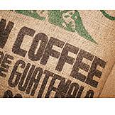 Print, Coffee sack, Coffee