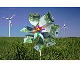 Pinwheel, Green electricity, Wind