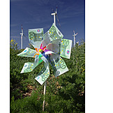 Pinwheel, Green electricity, Wind