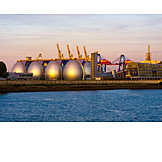 Hamburg, Container port, Hamburger hafen