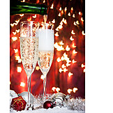 Sparkling, Champagne glass, Pouring