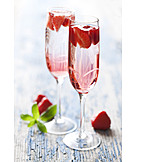 Sparkling, Strawberry punch, Strawberry sparkling wine