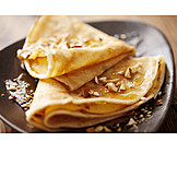 Dessert, Pancakes, Crêpe