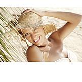 Woman, Holiday & Travel, Relaxation, Summer Vacation, Paradisiac