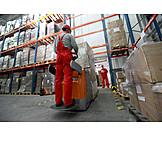 Job & profession, Logistics, Storage, Forklift driver