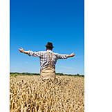 Thanksgiving, Harvest, Farmer, Satisfaction