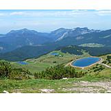 Lake, Tirol, Mountains