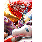 Balloon, Fun fair