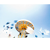 Carousel, Turning, Chain swing ride
