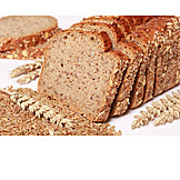 Wholemeal bread, Whole wheat bread
