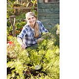 Rural scene, Gardening, Vegetable garden, Gardener