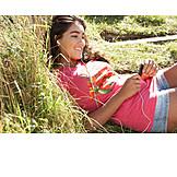 Teenager, Leisure & Entertainment, Holidays, Listening Music