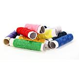 Yarn, Sewing thread