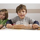 Child, Dough, Roll