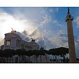 Forum romanum, Piazza venezia, Monumento vittorio emanuele ii