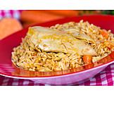 Oriental cuisine, Rice dish, Pilaf