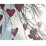 Twig, Heart, Baubles