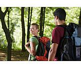Hiking, Together, Excursion