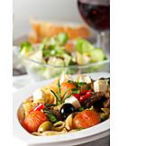 Pasta dish, Italian cuisine, Mediterranean cuisine