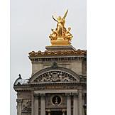 Statue, Paris, Opéra national de paris, Paris opera