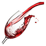 Wine, Pouring, Red wine