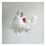 Cloudscape, Fantasy, Children's book, Storybook