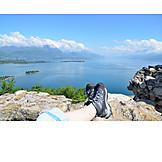Resting, Relaxation & recreation, Lake garda