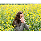 Allergy, Hay fever, Blow nose