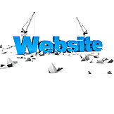 Construction site, Website, Maintenance