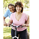 Couple, Active seniors, Older couple