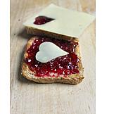 Breakfast, Toast, Marmalade bread