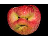 Humor & bizarre, Apple, Face