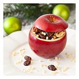 Christmas, Baked Apple