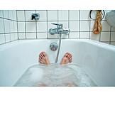 Bathing, Bathtub, Perspective