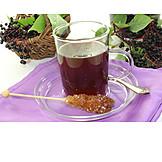 Fruit tea, Elder tea