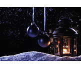 Christmas decoration, Candlelight