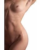 Naked, Human body, Female body