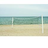 Beach volleyball, Volleyball net