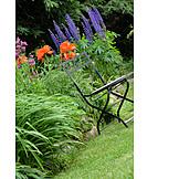 Garden, Garden Chair, Garden Decoration