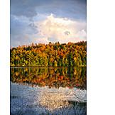 Lake, Autumn, Canada, Algonquin Provincial Park